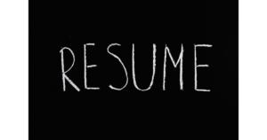 resume สมัครงาน