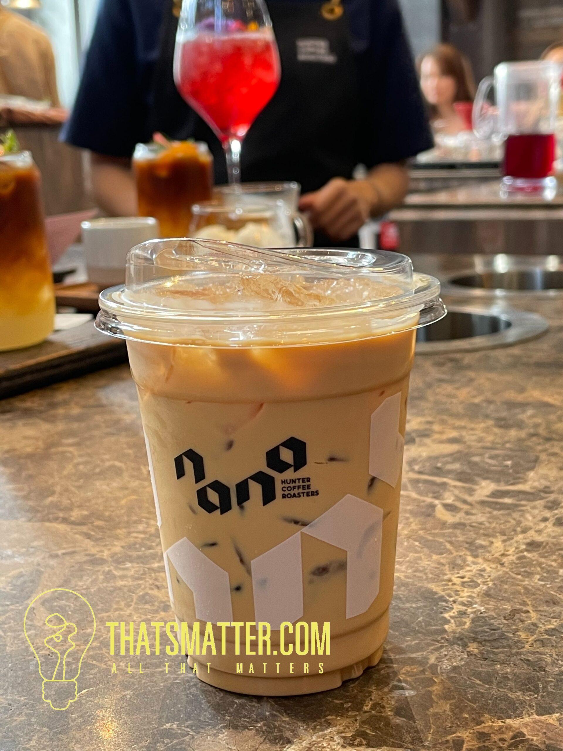 Latte จะเป็นการใช้เมล็ดกาแฟธรรมดา