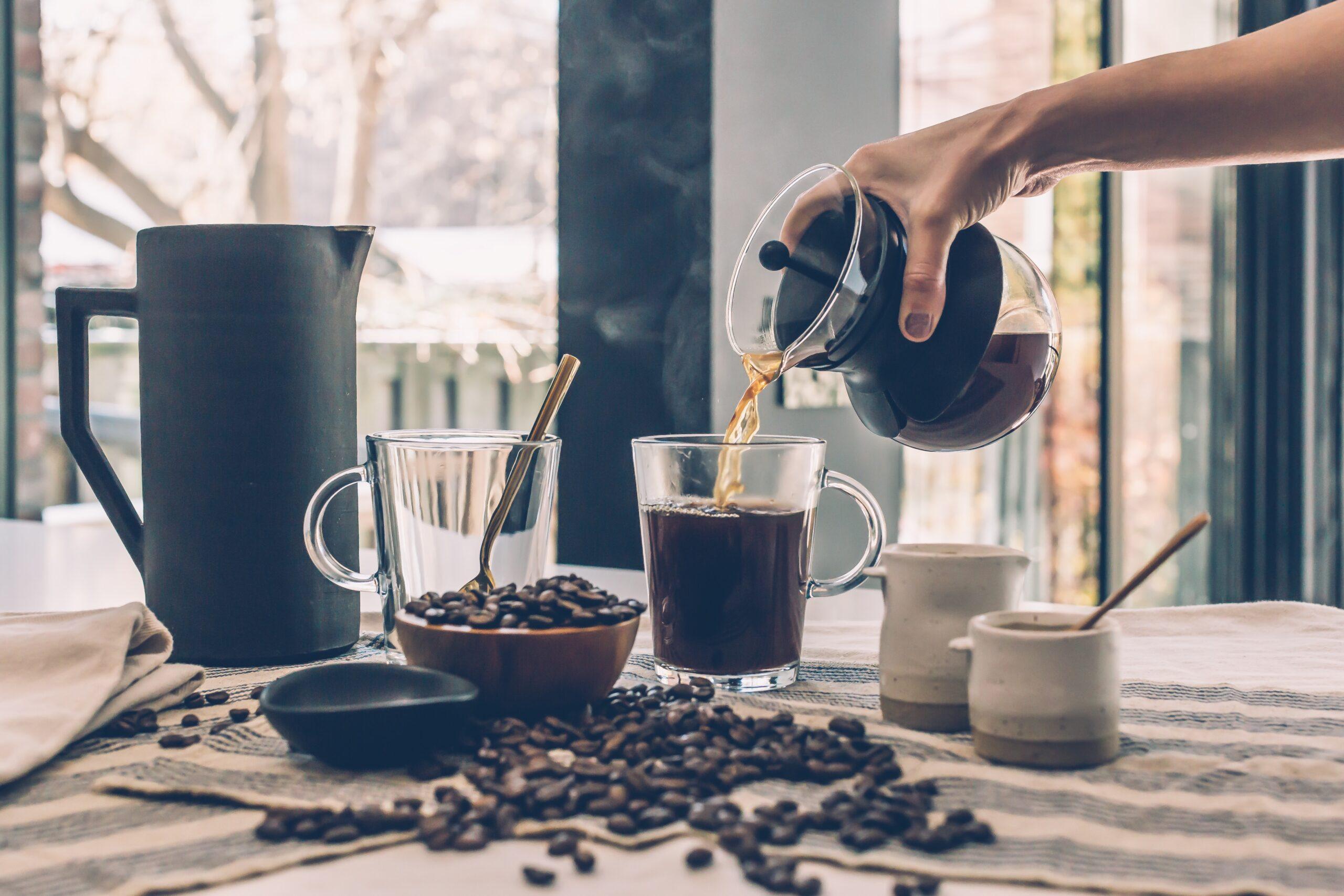 เงินเก็บ ชงกาแฟดื่มเองบ้าง