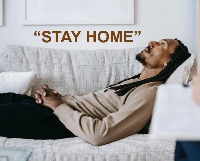 หยุดอยู่บ้าน โควิด