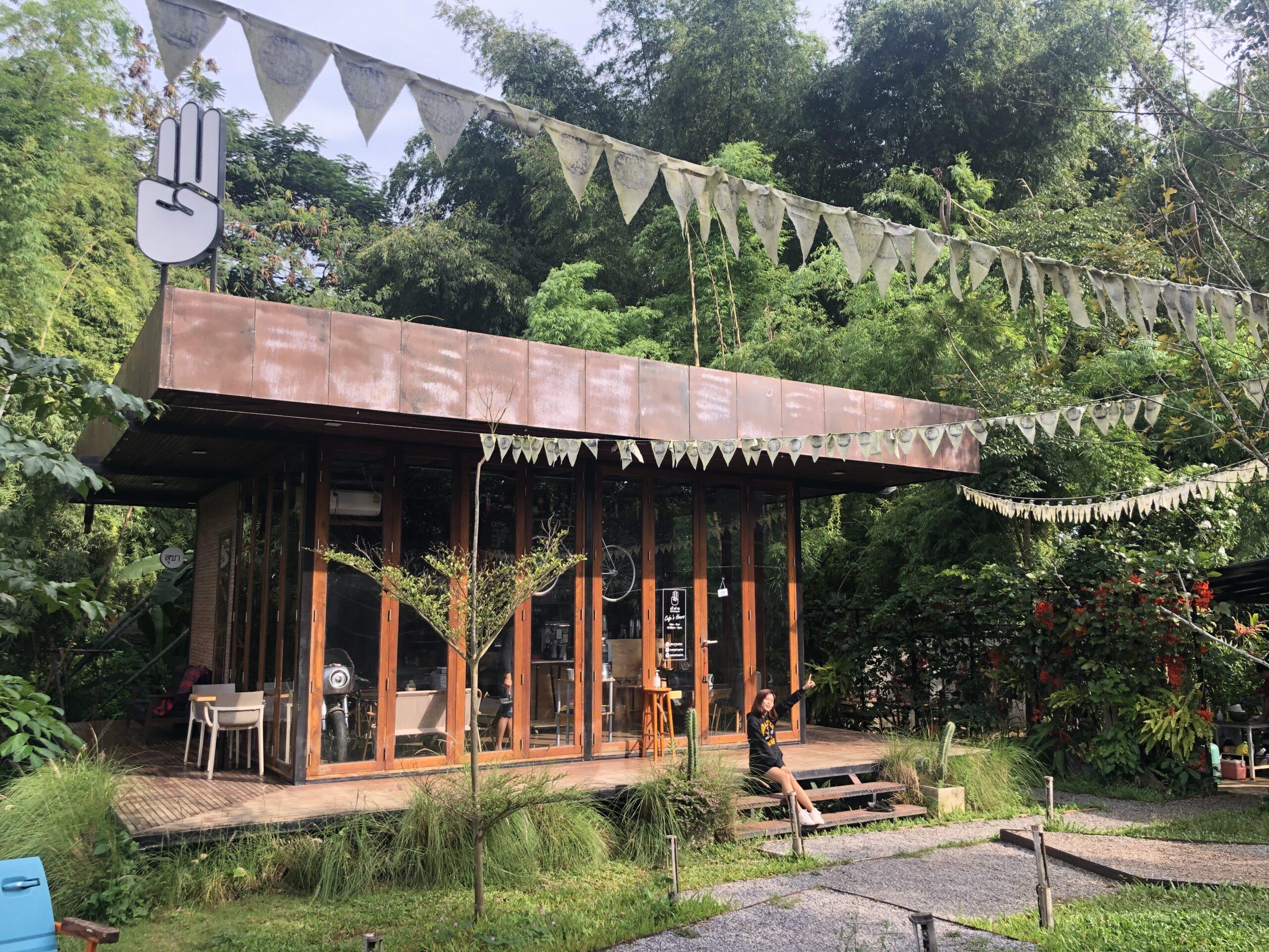 เข้าค่าย Cafe&Cabinที่พัก