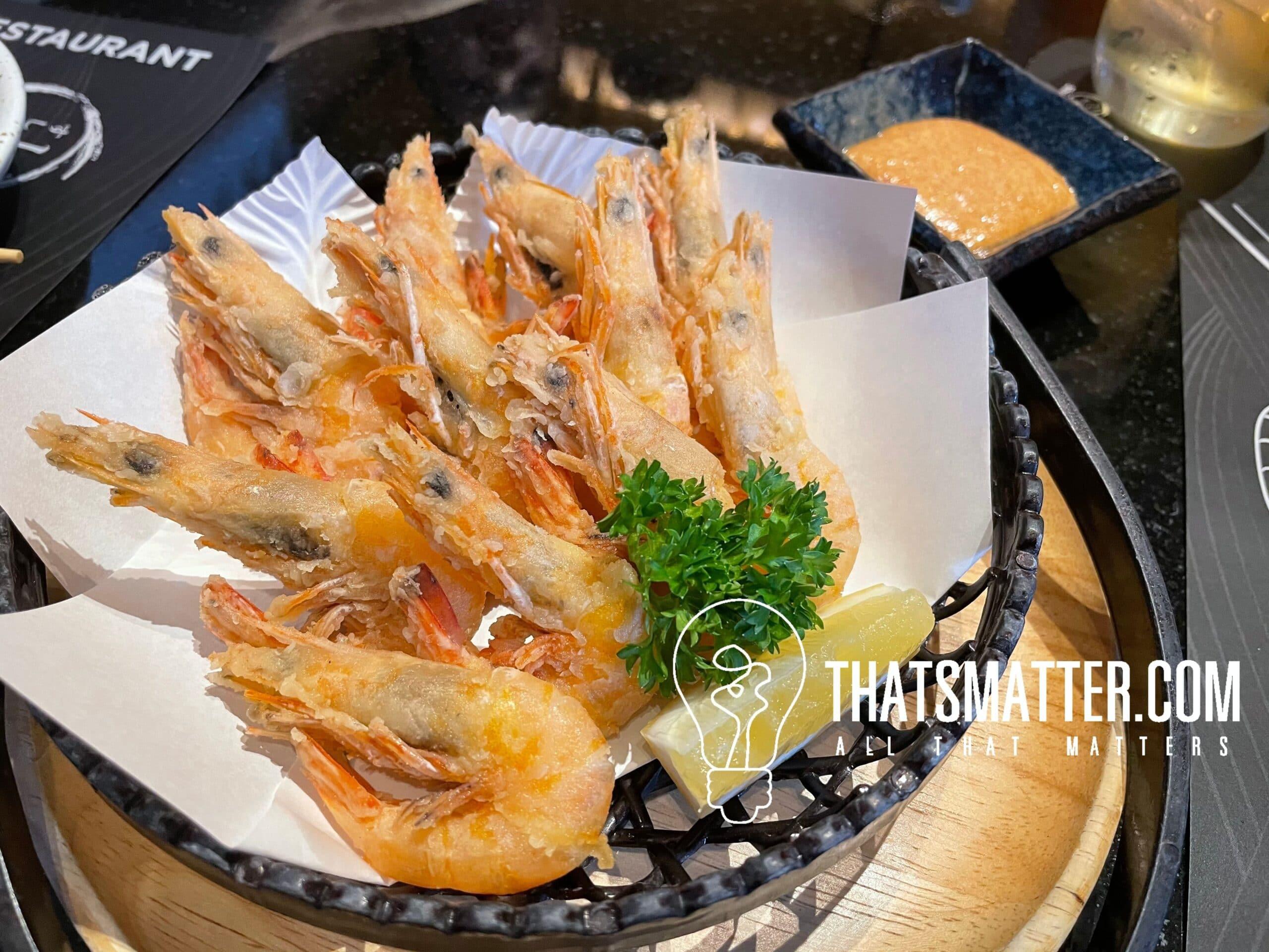 Ko ebi Karage อาหารญี่ปุ่น