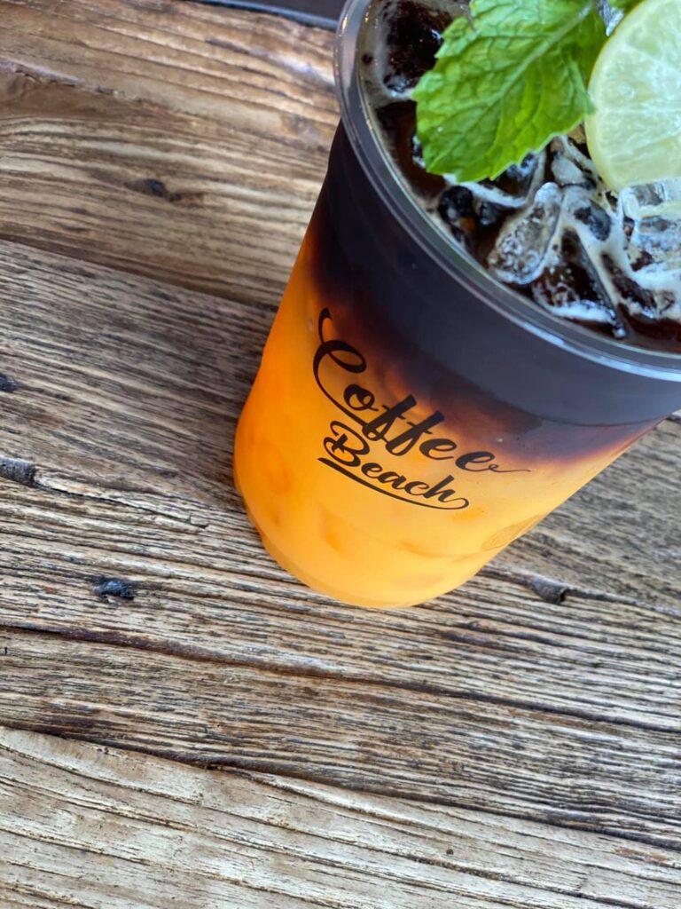 ร้านกาแฟคอฟฟี่ บีช Black orange coffee