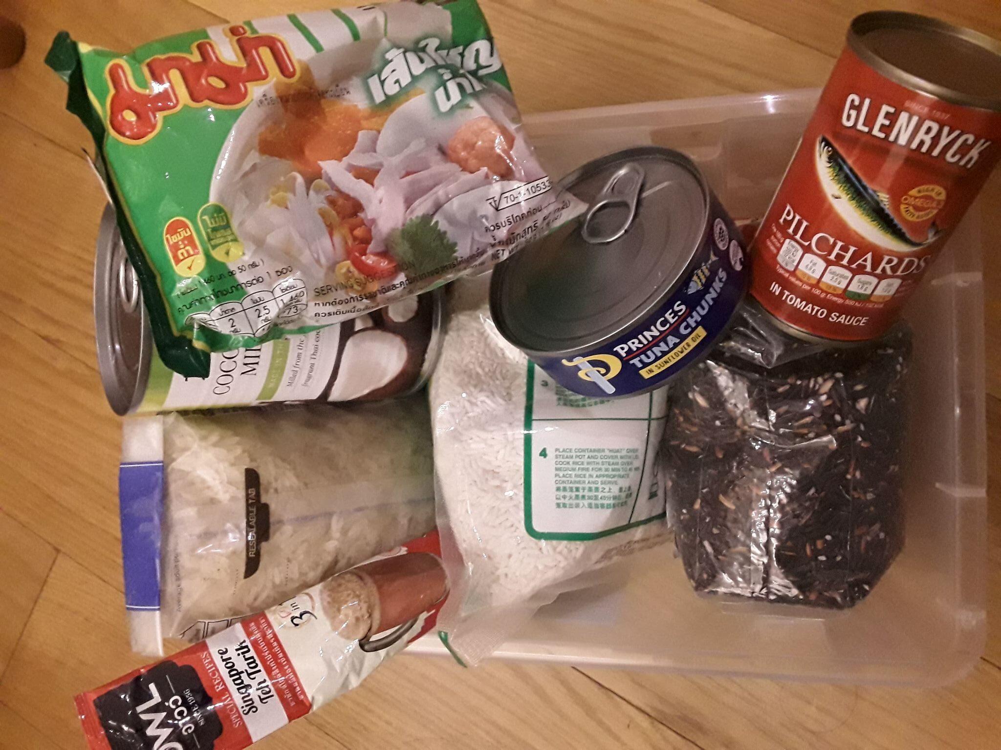 อาหารแห้ง/ของใช้ในครัว ยุคโควิด