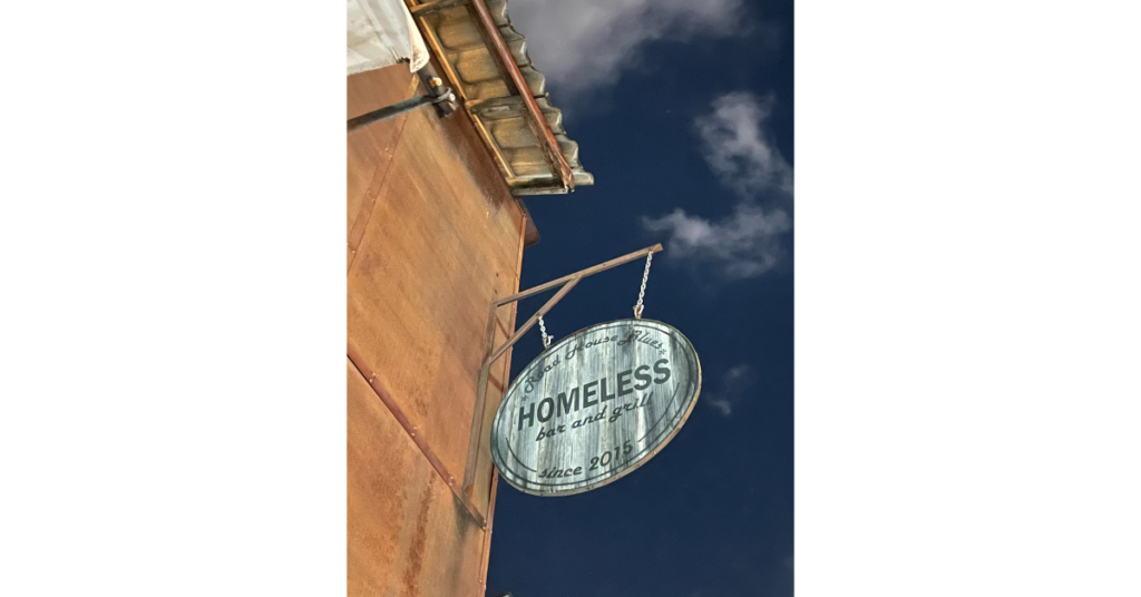 Homeless House bar and grill