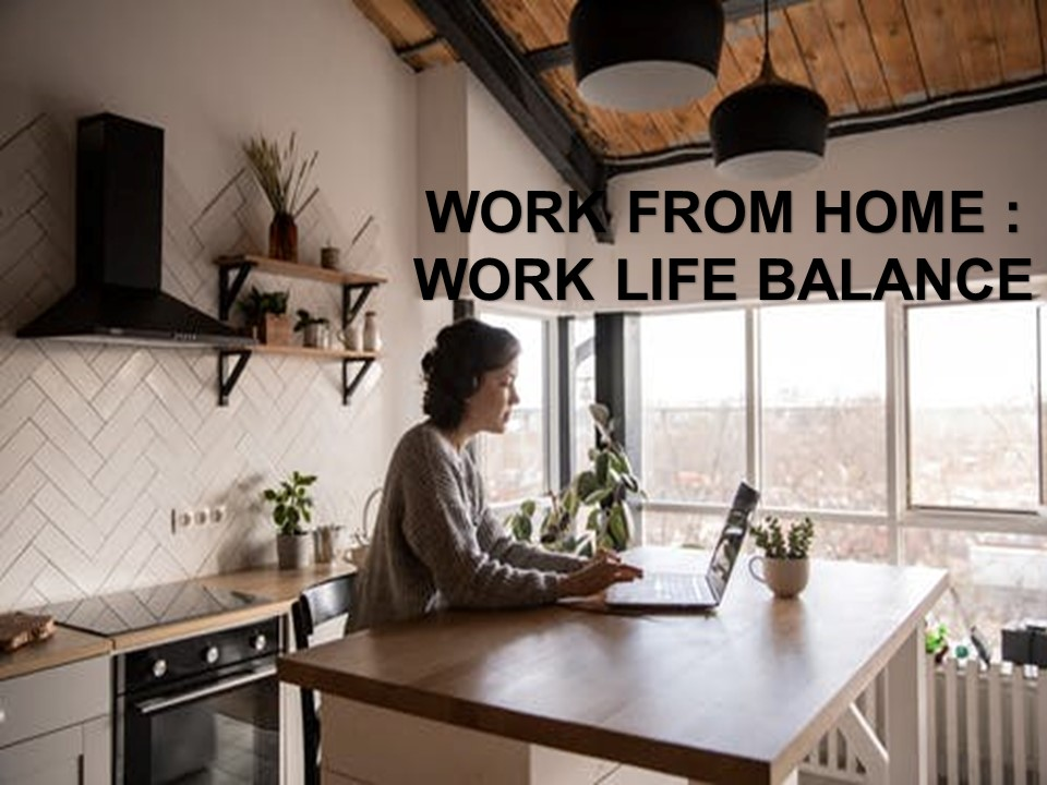 บริหารเวลา WORK FROM HOME
