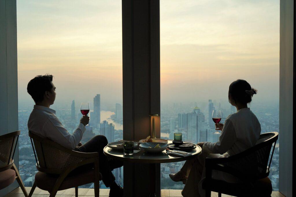 ห้องอาหารที่สูงที่สุดในประเทศไทย