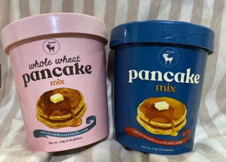 After you pancake mix