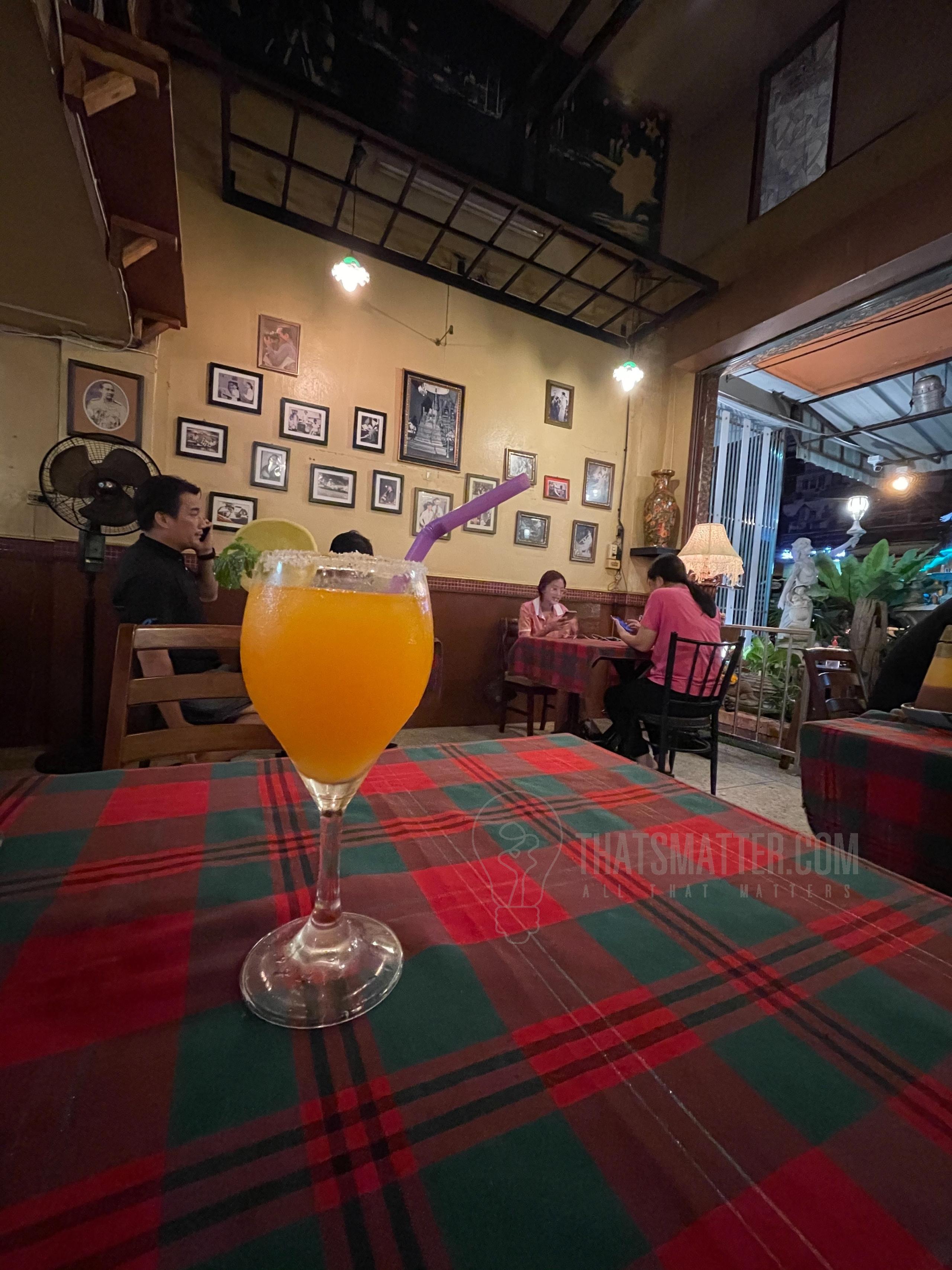 เดอะ เทสต์แอด สเต๊ก น้ำส้ม
