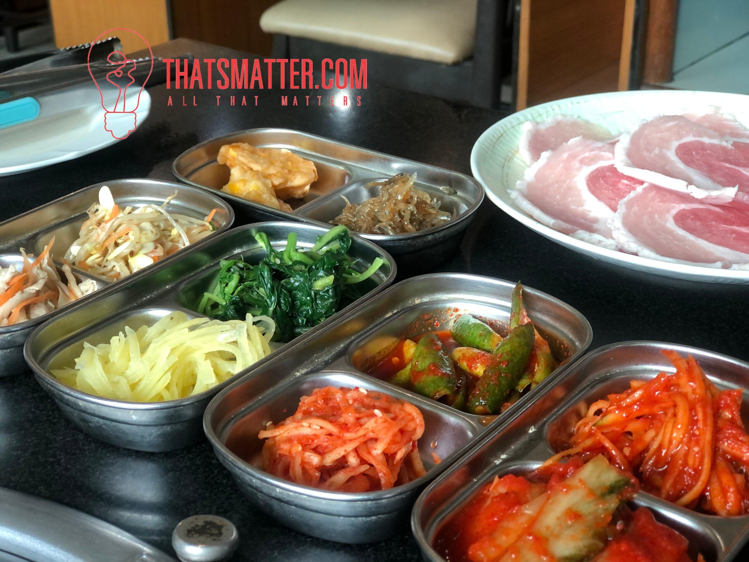 ร้านอาหารเกาหลี อีวาวอน เครื่องเคียง