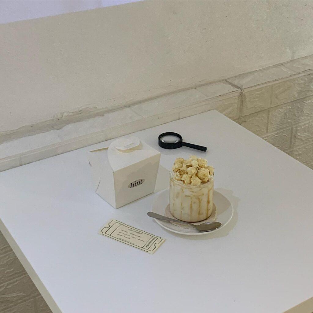 Hintcoffee คาเฟ่ ย่านกรุงธน minimalist