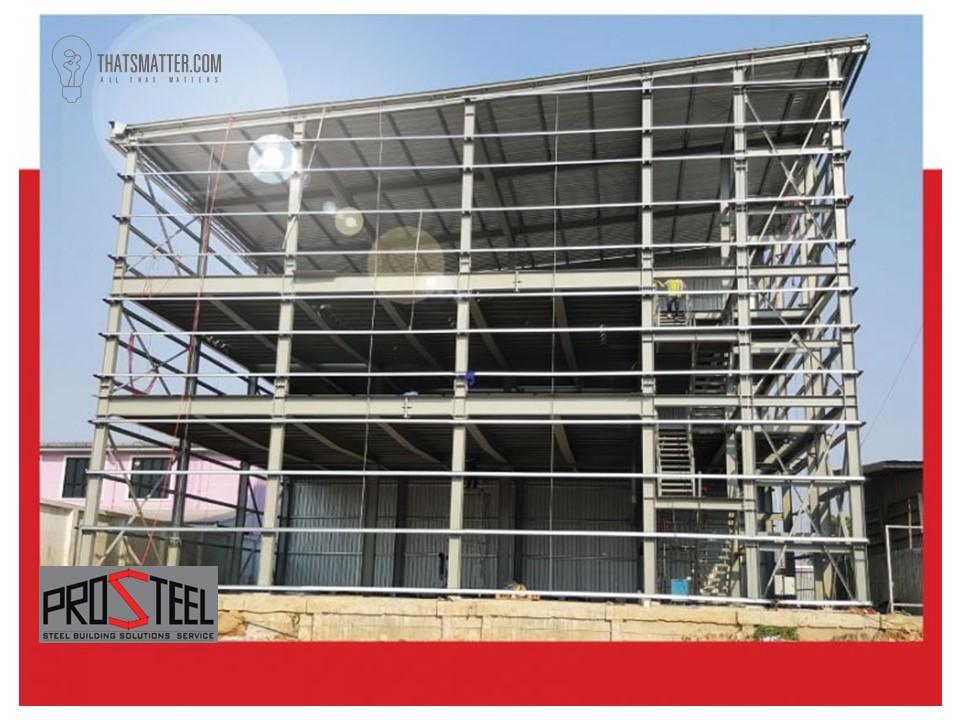 โครงสร้างเหล็กสำเร็จรูป PEB Structure steels
