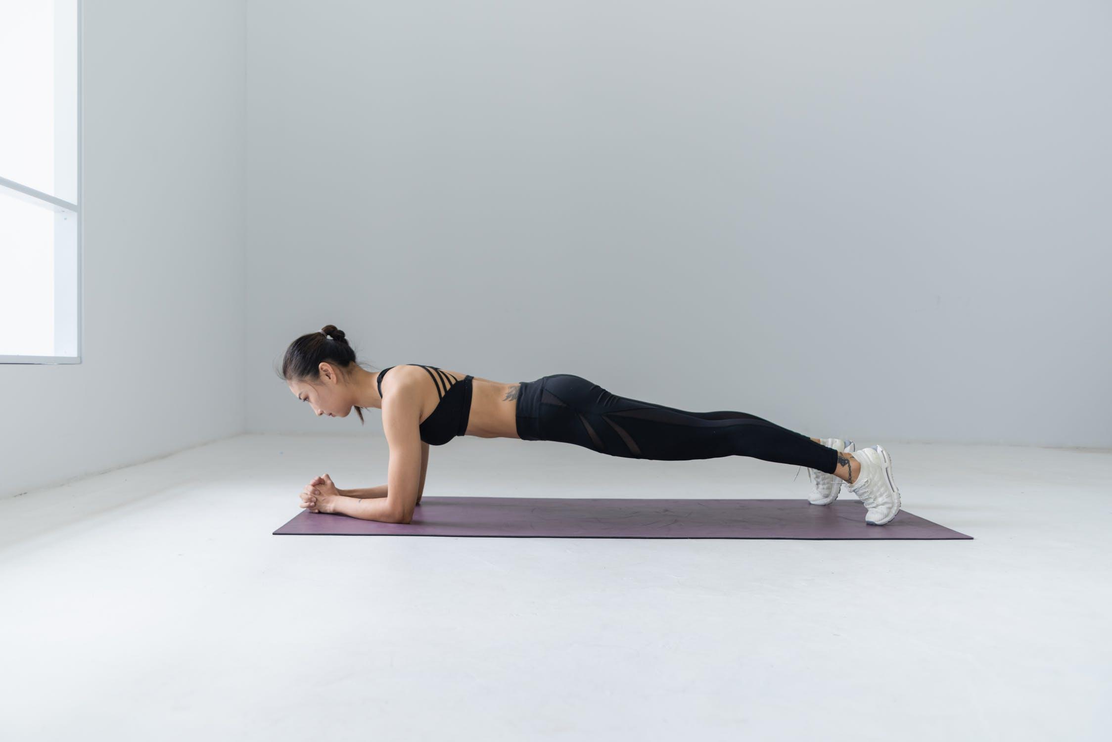 ท่าแพลงค์ (plank)