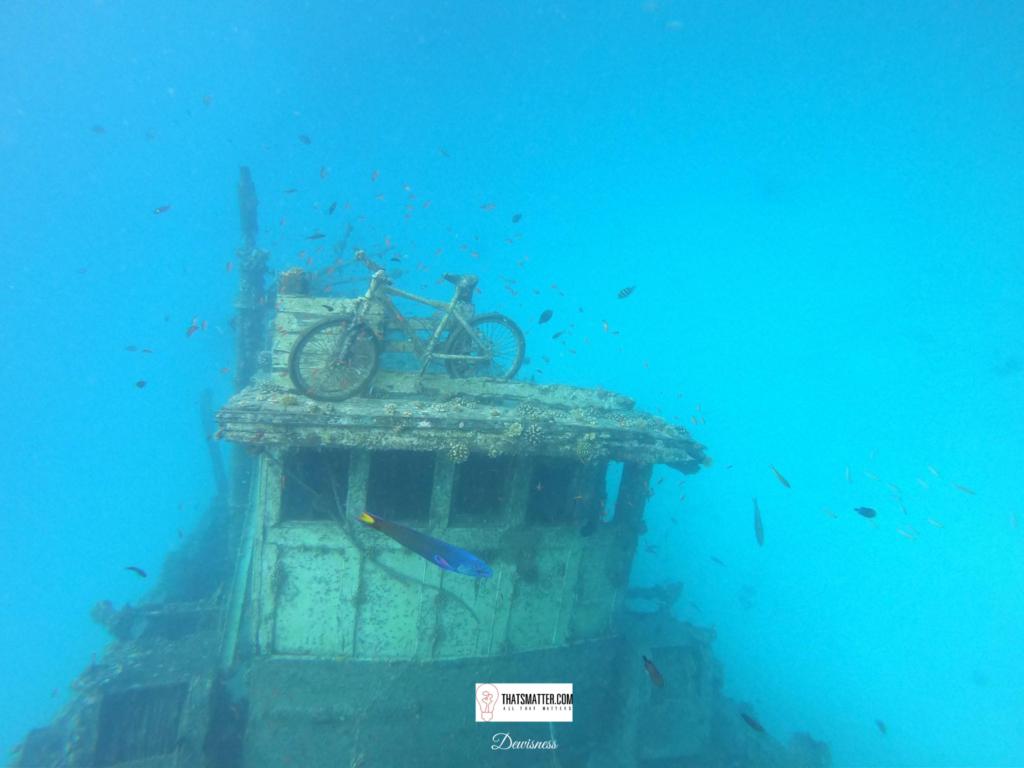 มัลดีฟส์ จุดเรือล่มอับปางใต้ทะเล