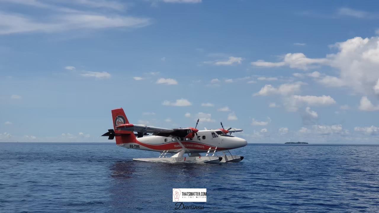 การเดินทางจาก Male ไปยังเกาะที่พัก Seaplane
