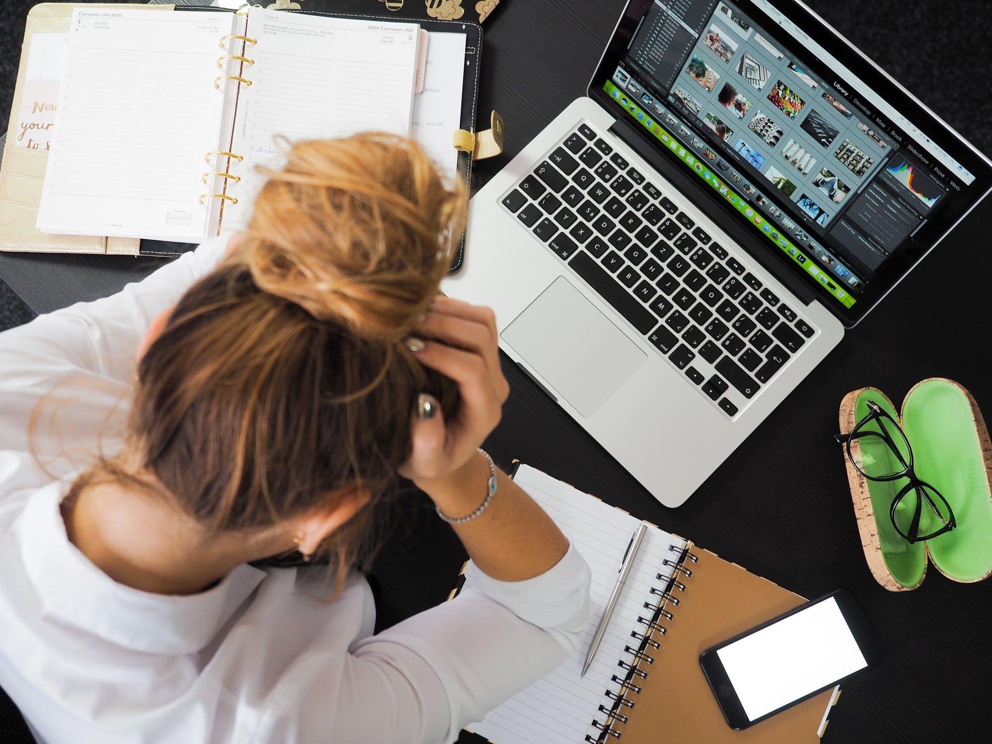 ความเครียดที่เพิ่มขึ้น Work from Home