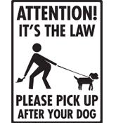 ทำความสะอาดอุจาระสุนัข