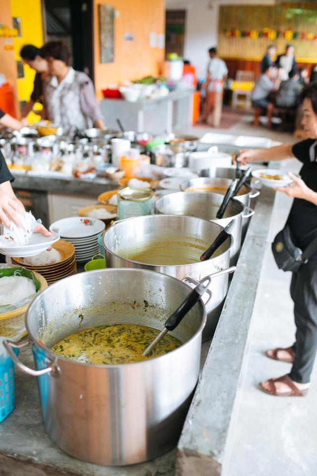 ร้านขนมจีน ในหาดใหญ่ น้ำยาขนมจีน